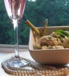 Risotto always goes well with champagne!