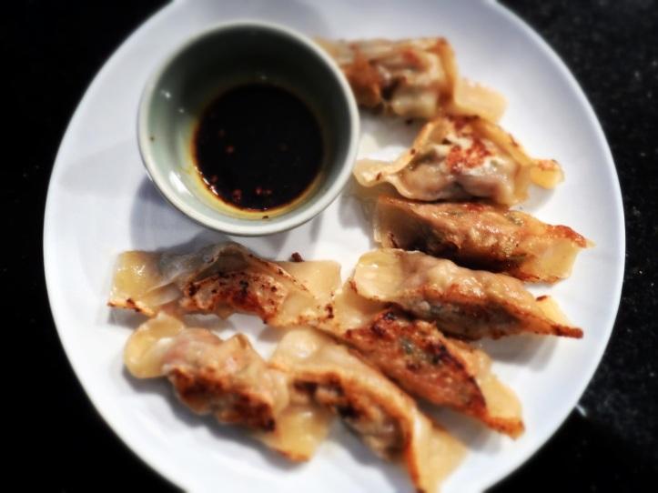 Pan-fried wontons, dumplings round two!