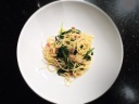 Warm Pancetta and Arugula Pasta Salad