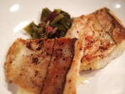 Southern Greens and Skin-on Haddock