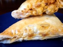 Buffalo and Blue Cheese Empanada